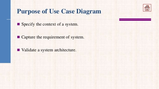 use case model   purpose of use case diagram
