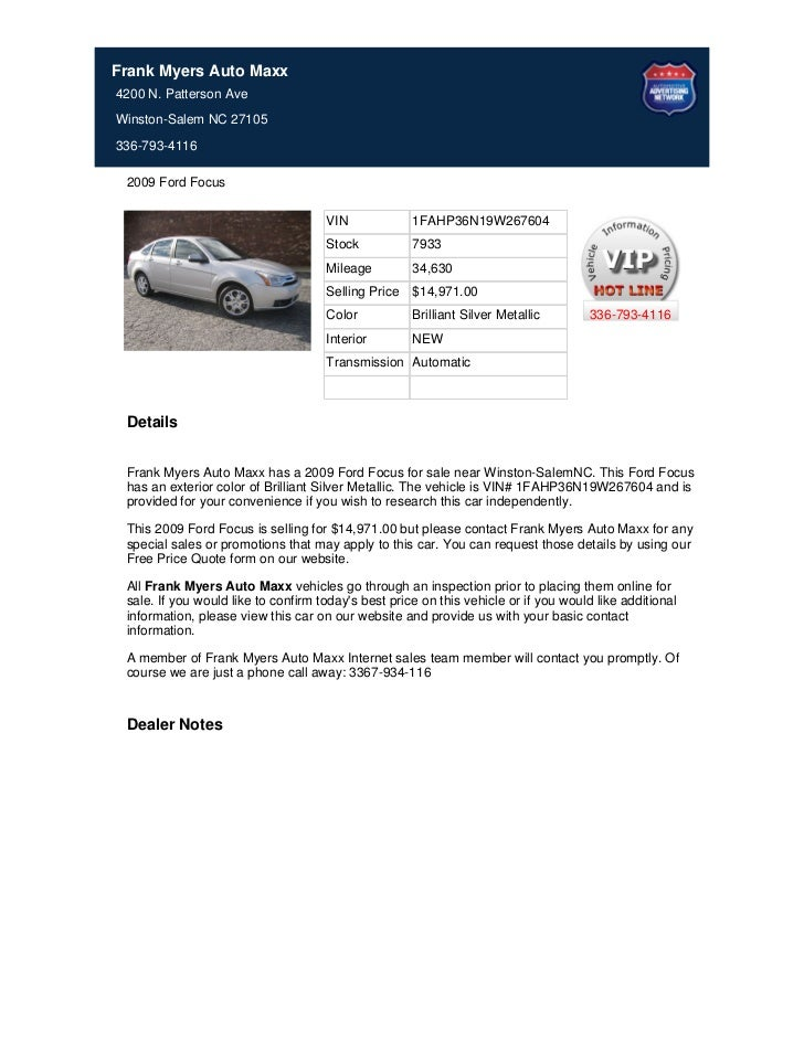 Used_2009_Ford_Focus_for_Sale_Near_Winston_Salem_NC_-_Stock_7933
