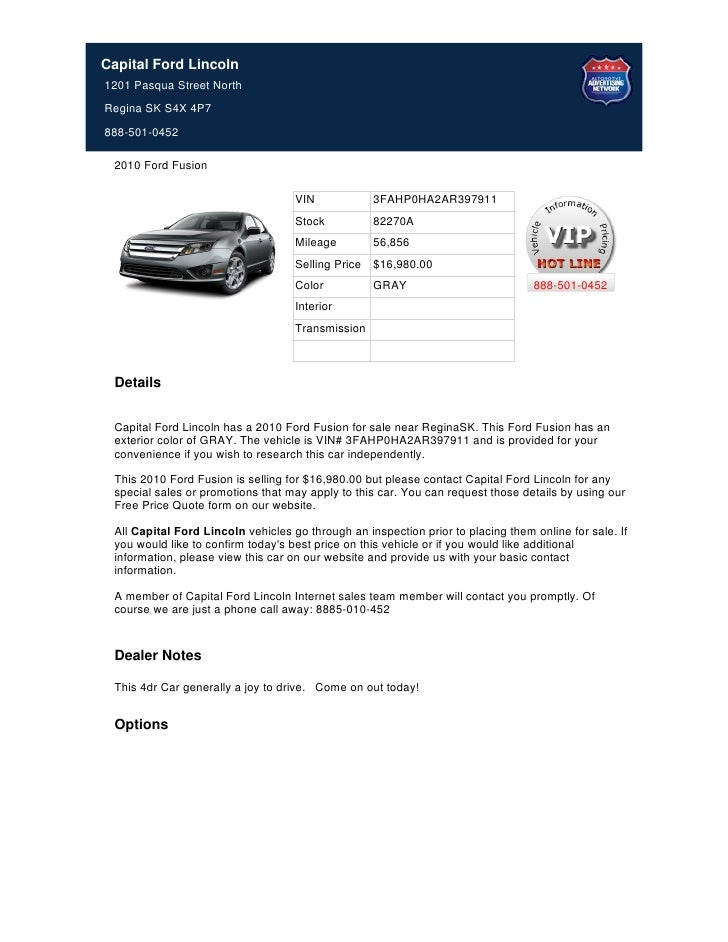 Used_2010_Ford_Fusion_for_Sale_Near_Regina__-_Stock_82270A