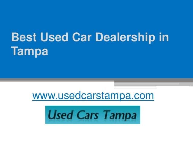 Best Used Car Dealership In Tampa