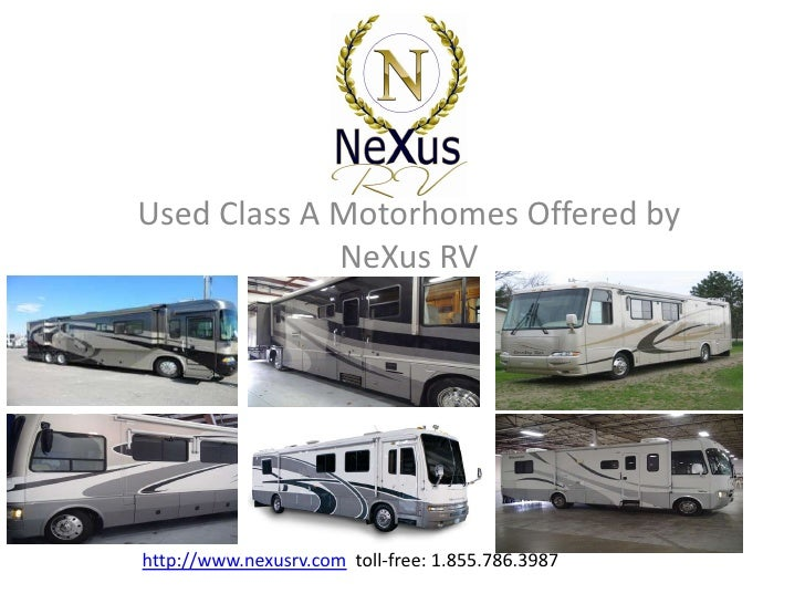 Used Class A Motorhomes For Sale at NeXus RV