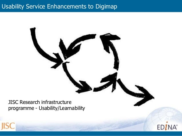 Usability Service Enhancements to Digimap (USED)