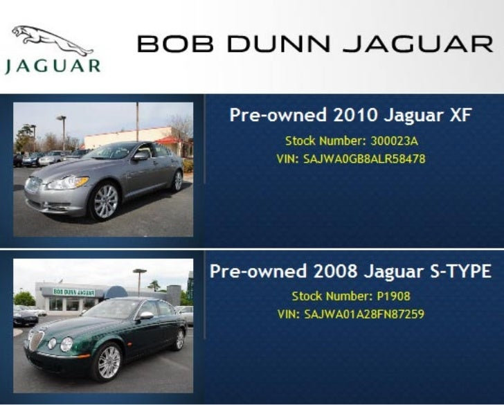 Used Jaguar Specials Raleigh NC | Bob Dunn Jaguar