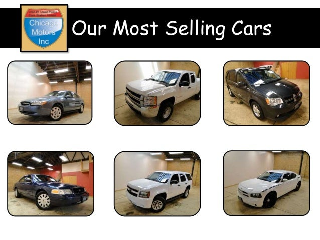Used police cars for sale for Chicago motors used police cars