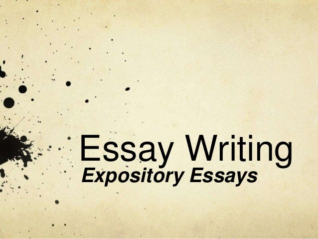 expository essay lessons