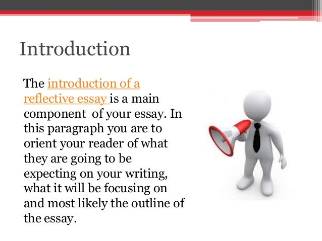 Tips on writing a reflective essay