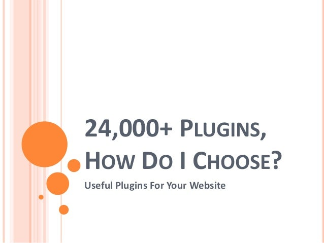 Useful plugins