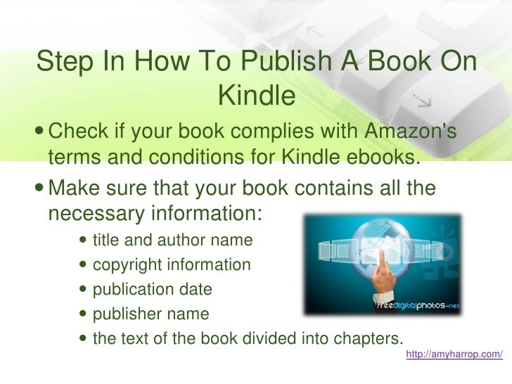How to publish a book?