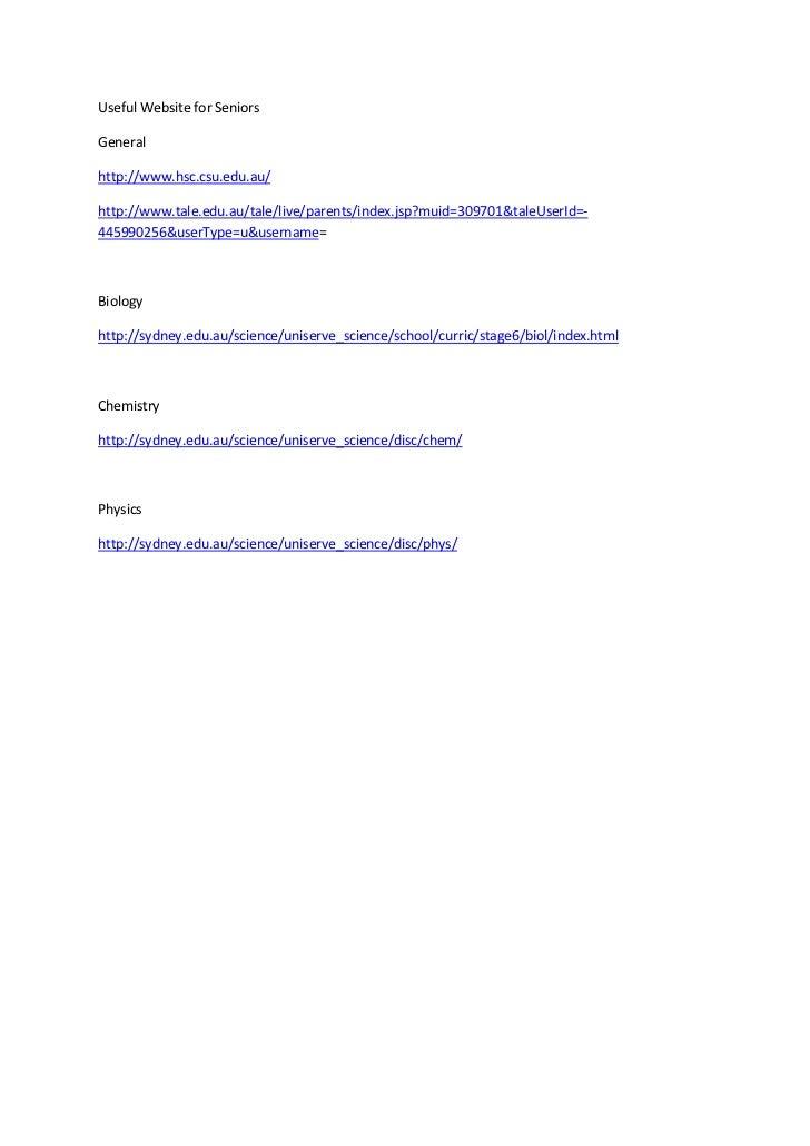 Useful website for seniors