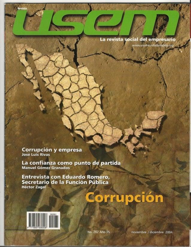 La corrupción, cáncer de la democracia y freno al desarrollo