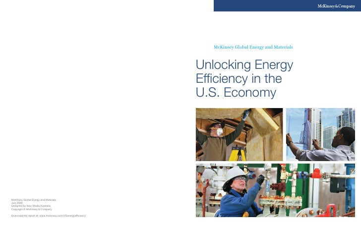 Unlocking Energy Efficiency in The U.S. Economy