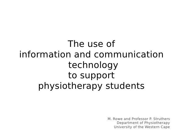 <ul><ul><li>The use of </li></ul></ul><ul><ul><li>information and communication technology </li></ul></ul><ul><ul><li>to s...