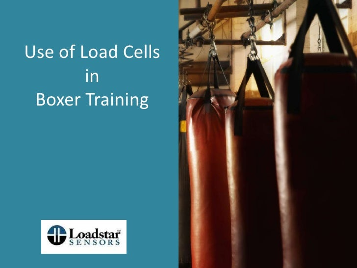 Use Of Load Cells In Boxer Training