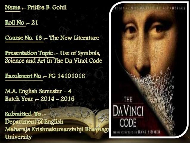 Use of Symbols, Science and Art in The Da Vinci Code Novel ... Da Vinci Symbols
