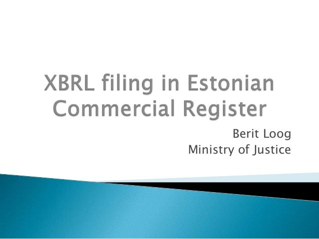 Berit Loog Ministry of Justice
