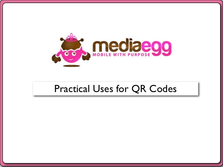 Practical Uses for QR Codes