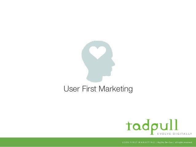 User First Digital Marketing