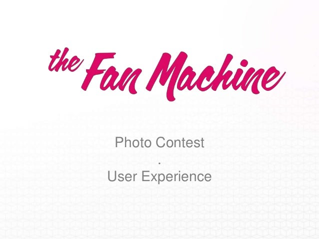 User Experience - Photo Contest