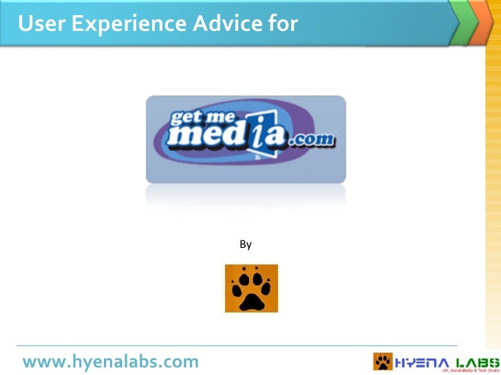 User Experience Advice for By