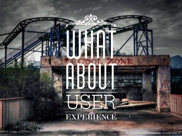 USER EXPERIENCE & FUSR