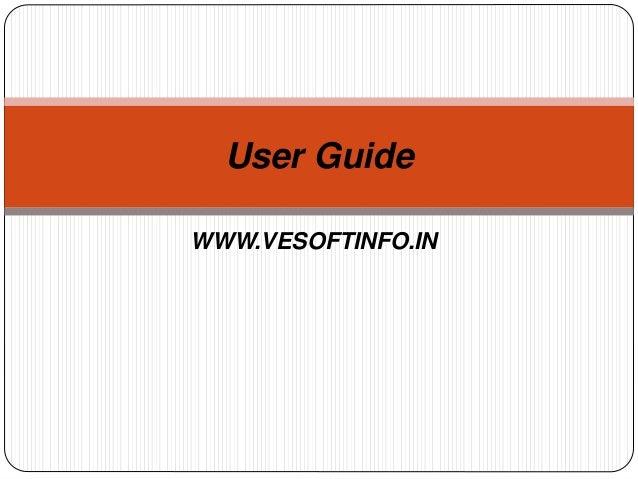 Vesoft's Trading system User Guide