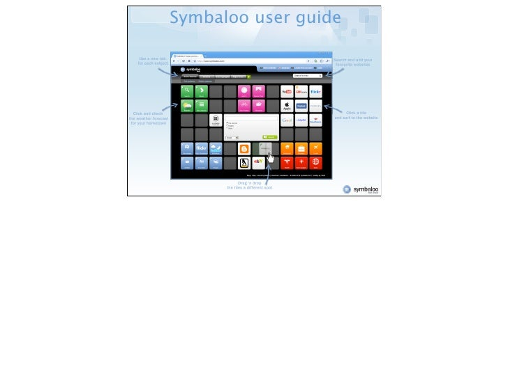 Symbaloo user guide