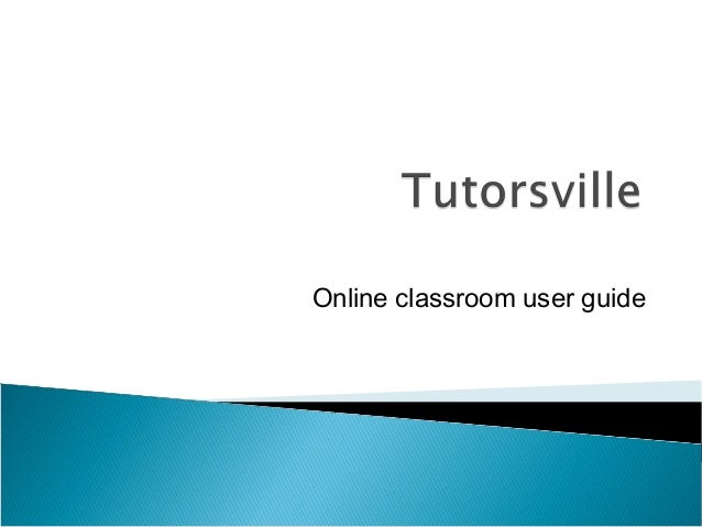 Online classroom user guide