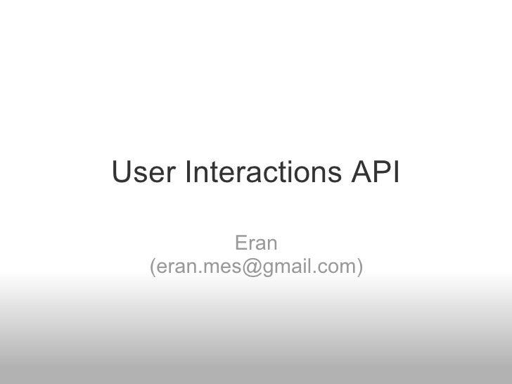 Selenium 2 User Interactions API