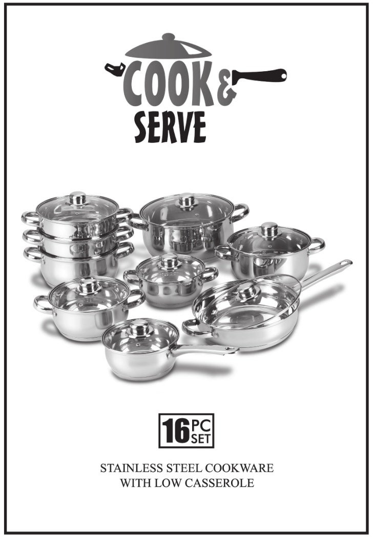 User Manual for Cook and Serve