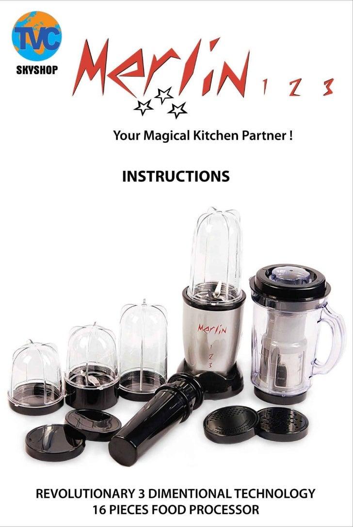 User manual for merlin 123