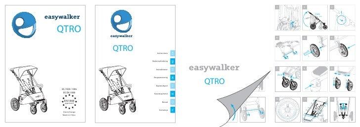 easywalker qtro user manual Czech