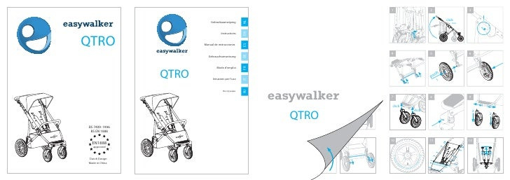 easywalker qtro user manual Spanish