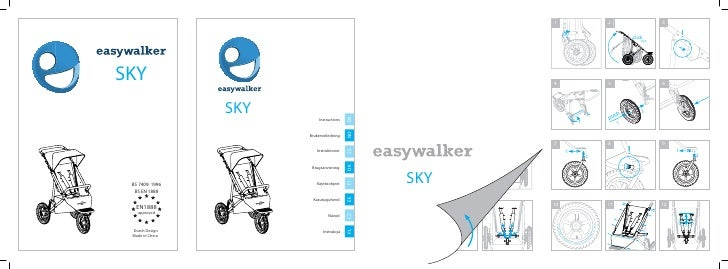 easywalker sky user manual Swedish