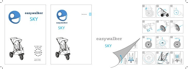 easywalker sky user manual UK English