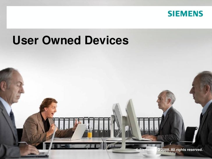 User owned devices