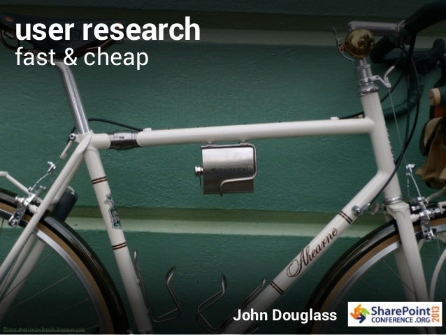 User Research Fast & Cheap