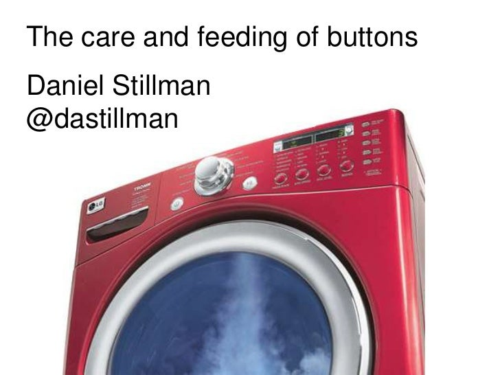 The care and feeding of Buttons: User research fridays