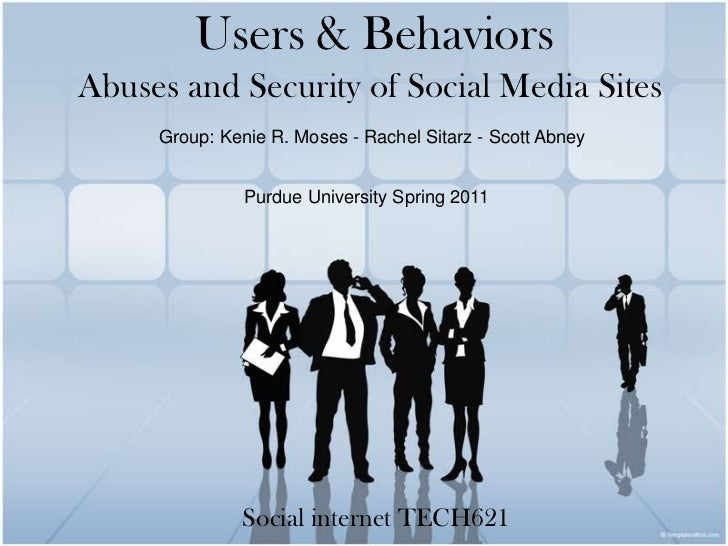 Users and Behaviors- Social Internet
