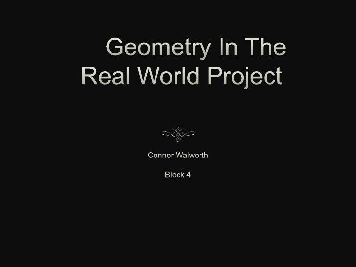 Geometry Project Powerpoint