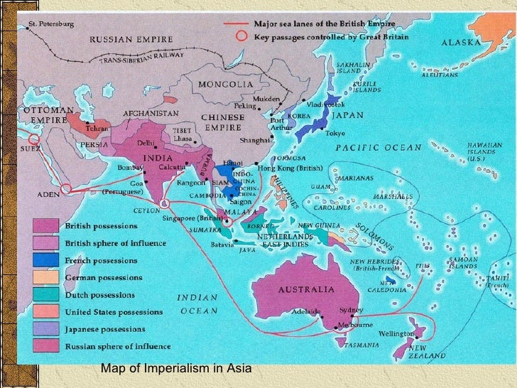 consequences of imperialism in asia Imperialism • pacific rim  they also competed to carve up the lands of  southeast asia  colonial impact in southeast asia, colonization brought mixed  results.