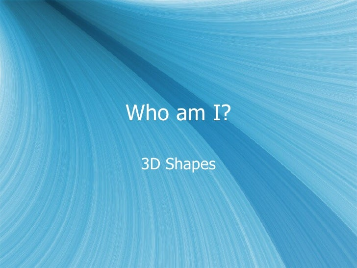 3D Guess Who?
