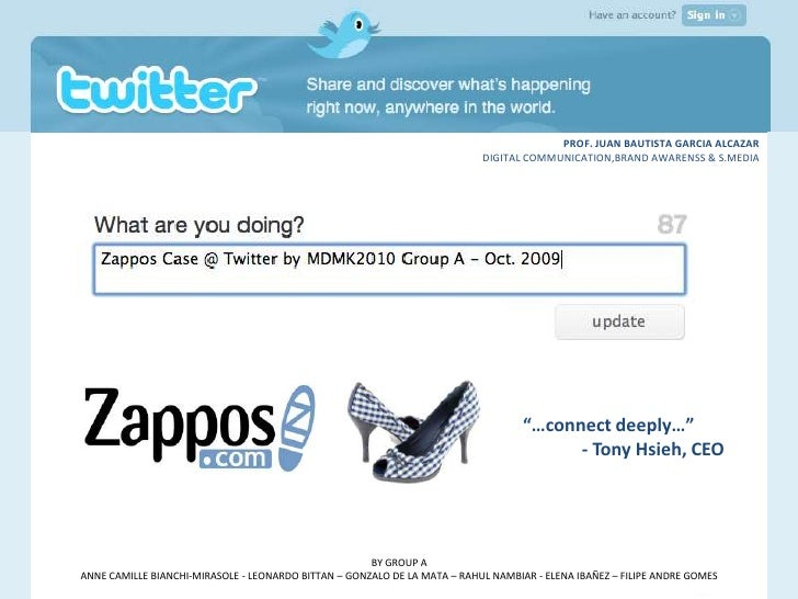 Zappos at Twitter