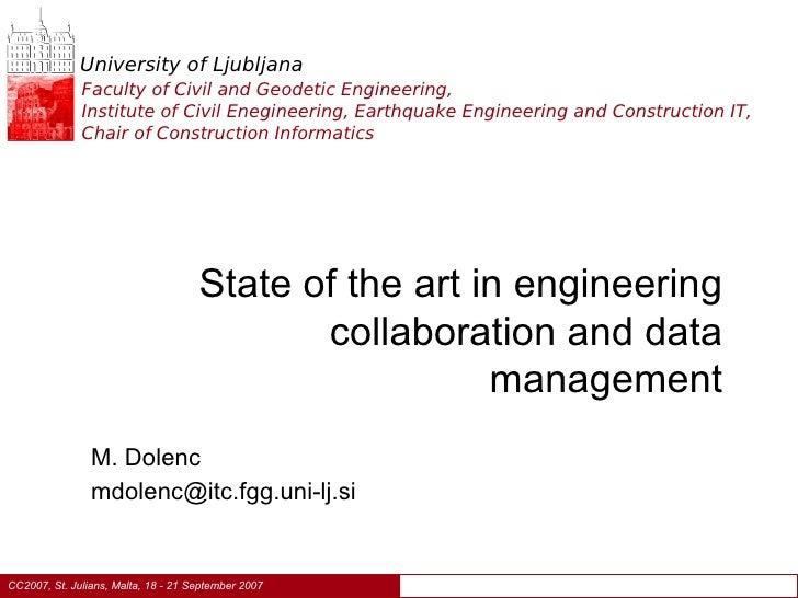 University of Ljubljana               Faculty of Civil and Geodetic Engineering,               Institute of Civil Eneginee...