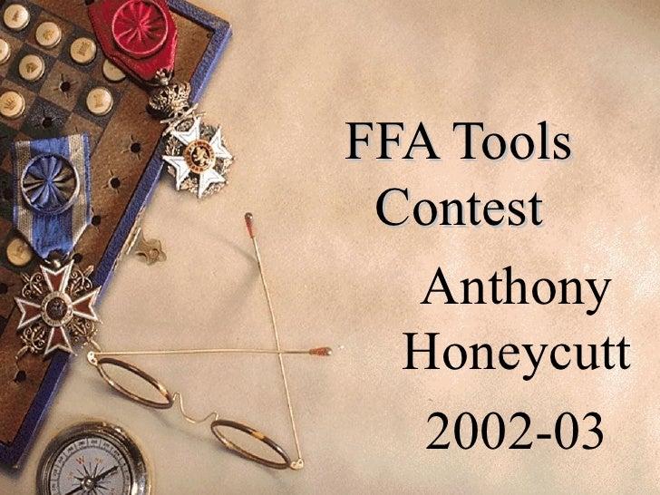 FFA Tools Contest