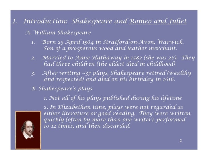 intro for essay about romeo and juliet An essay's introduction: the concluding paragraph moves from these speci c points to general ideas once again thus romeo and juliet's deaths are the result of fate -- well disguised as chance paraphrase: to restate an idea.