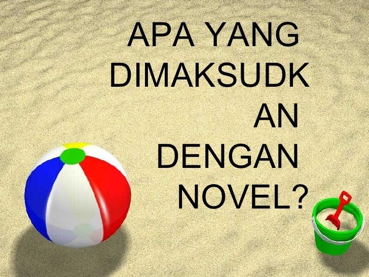 Sastera, Brunei, Novel Pengabdian
