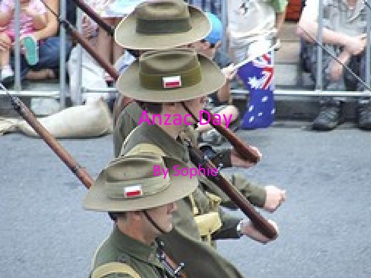 Anzac Day by Sophie