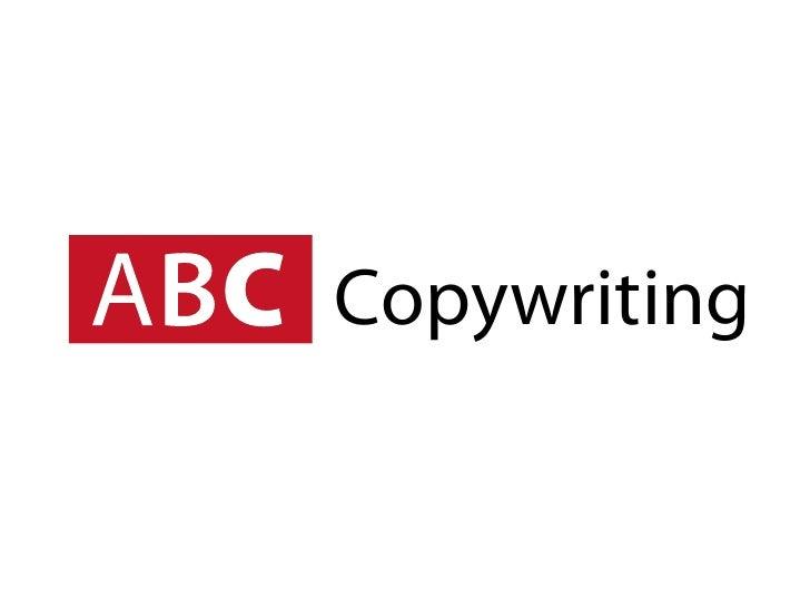 ABC Copywriting : 60-second intro : Freelance copywriter Norwich, Norfolk, UK