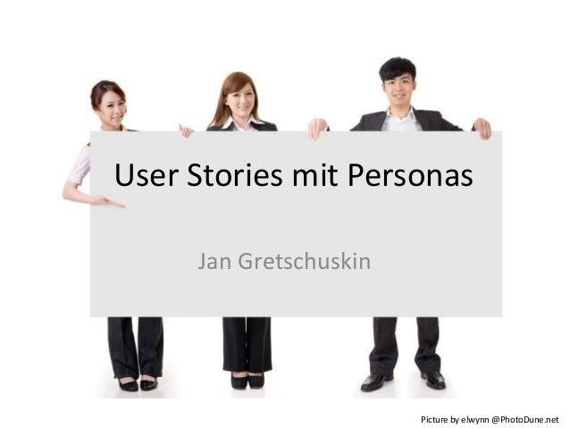 User Stories mit Personas