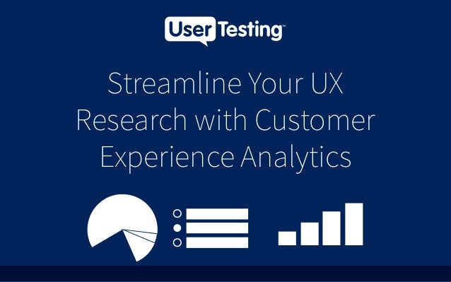 Streamline Your UX Research with Customer Experience Analytics